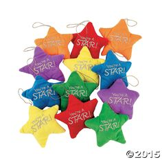 Plush Stars - OrientalTrading.com