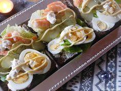 On n'est pas sorti de chez perrine!: Smørrebrød~~ Sandwich ouvert danois ~~semaine scandinave l'entrée~~ Sushi, Japanese, Ethnic Recipes, Food, Danish Language, Open Set, Scandinavian, Japanese Language, Essen