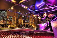 After the Concert by Trey Ratcliff ~ Grant Park Chi town