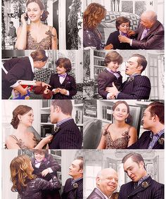 THE CUTEST FAMILY. Blair Waldorf becomes a Bass.