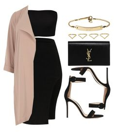 """Sin título #13640"" by vany-alvarado ❤ liked on Polyvore featuring River Island, Gianvito Rossi, Yves Saint Laurent, Ana Khouri and MICHAEL Michael Kors"