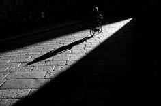 """Francesco Borghesan - Donna in bicicletta, 2011  From """"Un mare di Scatti 2011"""""""