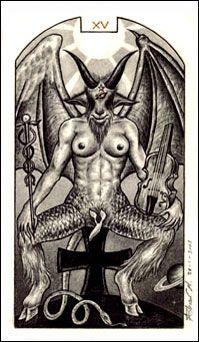 O Diabo  (The Devil) - Tarô Carbônico