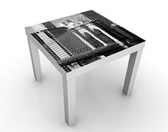 Design table New York landmarks II 55x45x55cm