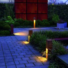 If you are considering lighting your garden/landscape, do remember firstly that a little light goes a long way at night. See our top garden lighting tips and ideas below to help you light beautifully and use the right exterior light… Continue Reading → Garden Lighting Tips, Backyard Lighting, Outdoor Lighting, Garden Lighting Bollards, String Lighting, Bollard Lighting, Outdoor Lantern, Diy Jardin, Landscape Lighting Design