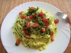 Guacamole, Zucchini, Cabbage, Spaghetti, Paleo, Food And Drink, Low Carb, Vegan, Vegetables