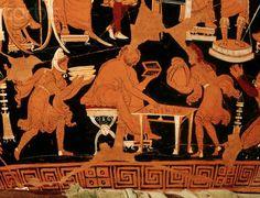 """Image 4, close-up of the """"Darius vase""""."""
