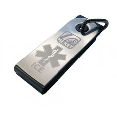 Medical ID Key Chain allows you to carry all your medical and emergency contact information with your keys. Waterproof emergency usb medical id keychain. Great for all sports id no need to carry engraved id Dog Tags, Usb, Medical, Personalized Items, Medical Doctor, Medicine, Med School, Medical Technology, Active Ingredient