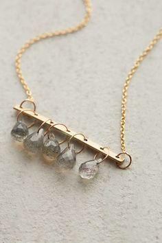 Crystal Bells Necklace by Lulu