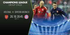 Champions League is in action, Check out the battle between ARSENAL and BAYERN MUNICH and bet to win… For more information visit www.betboro.com