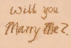 Write it in the Sand for Love