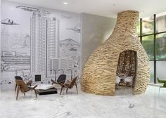 The Baya Park Company Office Design by Planet 3 Studios