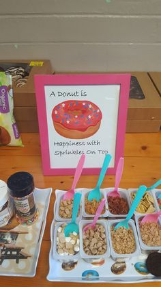 Donut Theme Party Ideas In 2019 Birthday Parties Donut