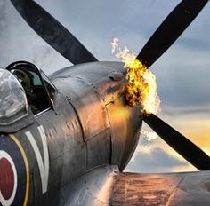 This photo by RAF Senior Aircraftsman Graham Taylor helped win him a very prestigious honor in the Royal Air Force photographic competition. The image shows Wing Commander Paul 'Godders' Godfrey performing a 'hot start,