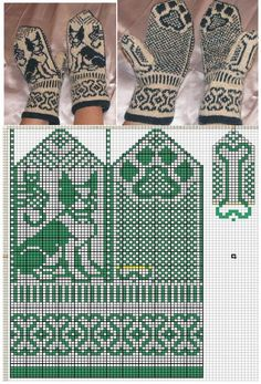 New knitting machine patterns free circular ideas Knitting Machine Patterns, Knitting Charts, Knitting Stitches, Free Knitting, Knitted Mittens Pattern, Knit Mittens, Mitten Gloves, Motif Fair Isle, Fair Isle Knitting