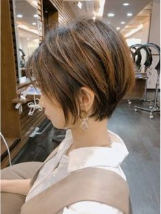 ニーフ(neaf) 大人かわいい前下がりショート【neaf 犬塚優介】 Medium Hair Styles, Short Hair Styles, Face Spray, Cut And Style, New Hair, Pixie, How To Memorize Things, Hair Cuts, Hair Color