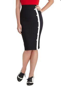 The Bottom Line Skirt, #ModCloth