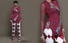 Stylish and extravagant – that's the new collection Coup de Classe by Christie Brown Ghana. I really like the combination of different designs and materials. As if she had picked key e…