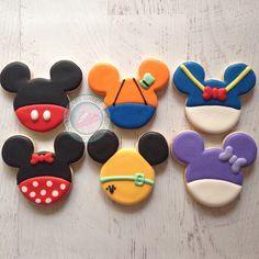 Galletas decoradas Mickey y amigos