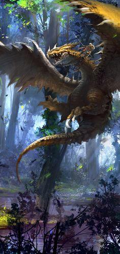 Dragon Art by RedHong