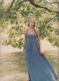 """Lazy Days"", W US, October 1993 | Photographer : Martin Brading | Model : Bridget Hall"