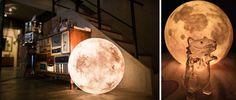 Deze maanlamp is alles wat je nú aan verlichting in huis wil hebben