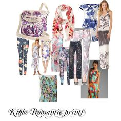 Kibbe Romantic prints by furiana on Polyvore featuring Graham & Spencer, Young, Fabulous & Broke, Valentino, Lela Rose, Forever New, Forever 21, Calvin Klein, IRO, MANGO and Rosetti