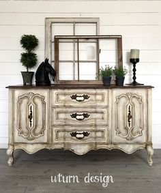 Farmhouse French provincial buffet By uturn design