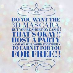 Hosting a Younique party means you and me working together to get you free product! We can make it happen!! Contact me if you're interested!  https://www.youniqueproducts.com/AndreaHedberg/business/party