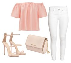 """Sin título #176"" by winterbirds on Polyvore featuring moda, Rebecca Taylor, H&M y Givenchy"