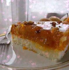 Pumpkin semolina dessert - the rum Turkish Recipes, Sugar Free, Yogurt, Cheesecake, Pudding, Pumpkin, Sweets, Desserts, Food