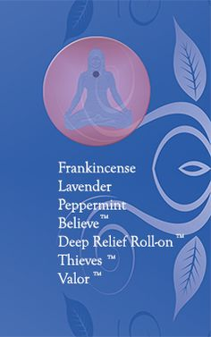 5th  Throat Chakra essential oils.  Release unexpressed pent-up emotions. Communicate thoughts, desires and feelings.