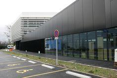 Nueva Sede de Control, Laboratorios y Auditorio Control, Labs, Auditorium