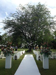 my outside wedding / mi boda al aire libre