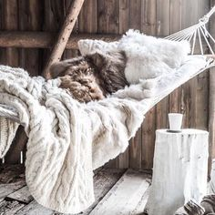 Cosy winter nooks....yes please