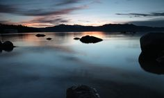 Photography near Lake Tahoe - Photographing Zephyr Cove Sunset :: The Outbound Collective