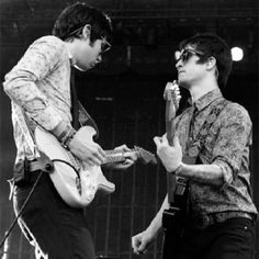 Brendon Urie and Ryan Ross
