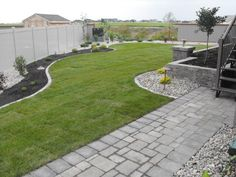 Simple and neat landscaping