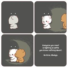 Bears((( understand me shyam ! I am torn apart . It's almost 3 years since I went to nimans . Don't play the fool with me . Cute Couple Comics, Cute Couple Cartoon, Cute Comics, Cute Bear Drawings, Cute Cartoon Drawings, Cute Love Pictures, Cute Love Gif, Chibi, Cute Kawaii Animals