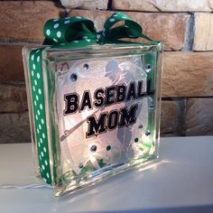 Baseball Mom GemLight by GemLights on Etsy, $25.00
