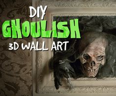 Skull Pictures, Creepy Pictures, 3d Pictures, Halloween Skull, Scary Halloween, Halloween Party, Haunted Pictures, 3d Picture Frame, 3d Wall Art