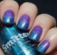 the mercurial magpie: gradient with Smitten Sparkling Orchid and 131 Angstrom