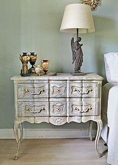 French Antique Painted