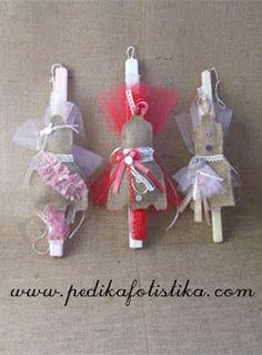 Η Σουζάνα φτιάχνει πασχαλινές λαμπάδες!   bombonieres.com.gr Xmas, Christmas Ornaments, Handmade Candles, Easter, Holiday Decor, Spring, Google, Vintage, Christmas