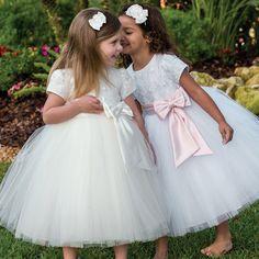 Sarah Louise Ceremonial Ballerina Length Dress 70034