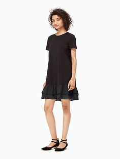 ruffle swing dress - Kate Spade New York