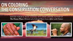 DEC 8 Free Event! SC author and naturalist Dr. Drew Lanham will be leading a forum on conservation and the color line. Seating is limited so REGISTER NOW: http://ift.tt/2gIg3SW #CommunityEngagement #blackbirder #scnative #conservation #naturelovers #blackscientist #charlestongood