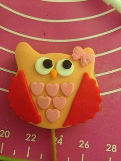 Owl cookies baykus kurabiye