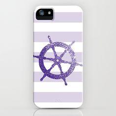 Purple GLitter Helm IPhone & IPod Case By ...