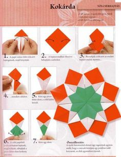 Kézműves ötletek március 15-re, letölthető mintaívekkel  Paperworks, free printables for the Hungarian National Day march 15 Cute Crafts, Diy And Crafts, Crafts For Kids, Arts And Crafts, Paper Crafts, Origami Christmas Tree, Christmas Tree Crafts, Origami Modular, Sashiko Embroidery